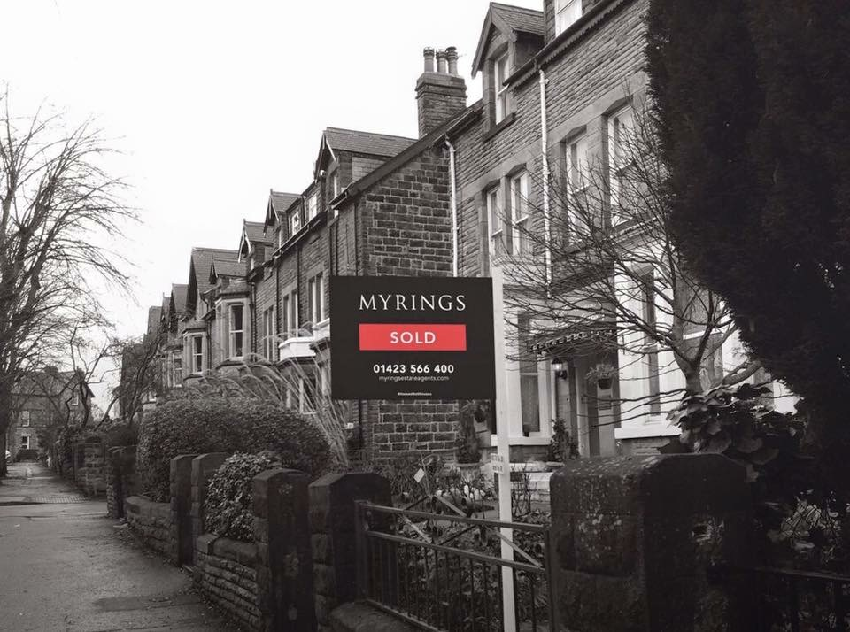 myrings estate agent sale board