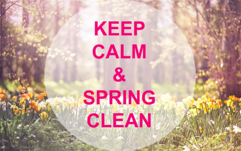 spring clean top tips